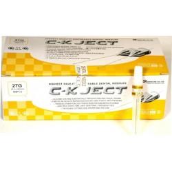 ΟΔΟΝΤΙΑΤΡΙΚΕΣ ΒΕΛΟΝΕΣ C-K JECT LONG 27G x 40mm (100TMX)